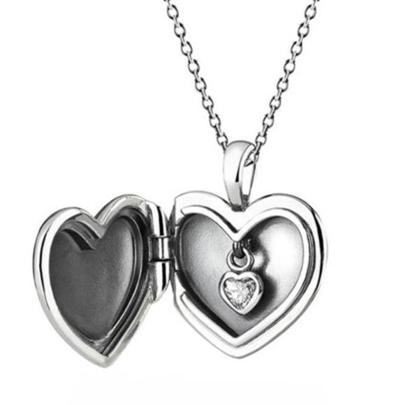 39aa7aa6d Pandora Jewelry | New Heart Boxed Love Locket Necklace | Poshmark